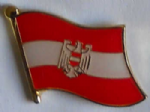 Austria Eagle Country Flag Enamel Pin Badge
